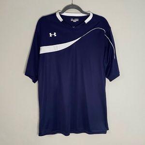 Under Armour Navy Men's Golf Shirt